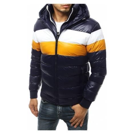 Dstreet Prošívaná granátová zimní bunda