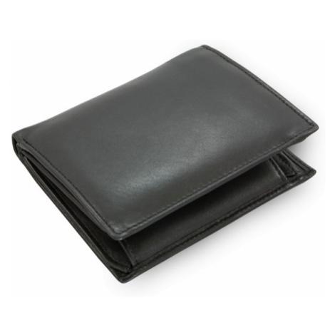 Černá pánská kožená peněženka Roberto Arwel