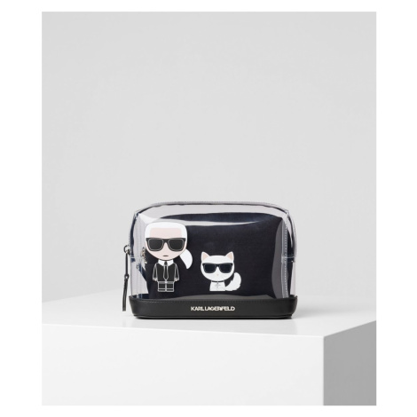 Kosmetická Taška Karl Lagerfeld K/Ikonik Transparent Pouch