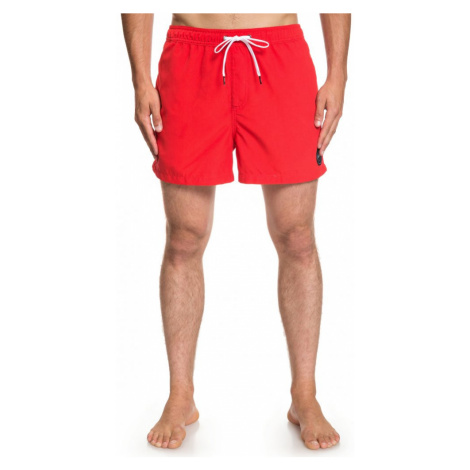 Koupací kraťasy Quiksilver Everyday Volley high risk red