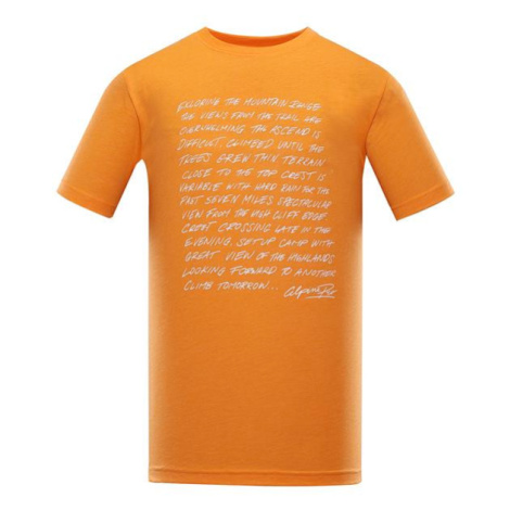 Tiberio 9 oranžová pánské triko ALPINE PRO