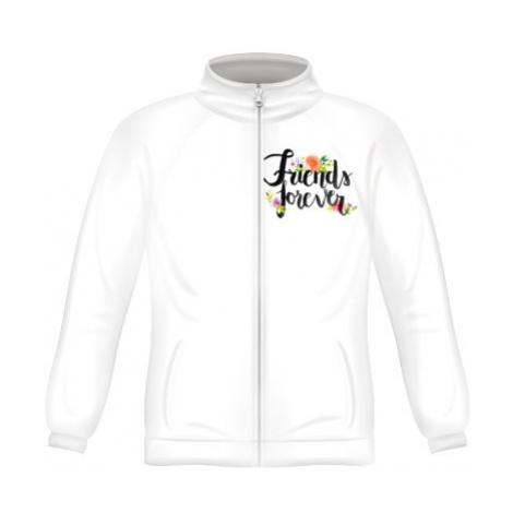 Pánská mikina zip FRUIT Friends forever