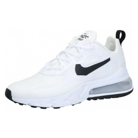 Nike Sportswear Tenisky 'Nike Air Max 270 React' černá / stříbrná / bílá