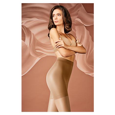Stahovací punčochové kalhoty 20 DEN caramel Giulia