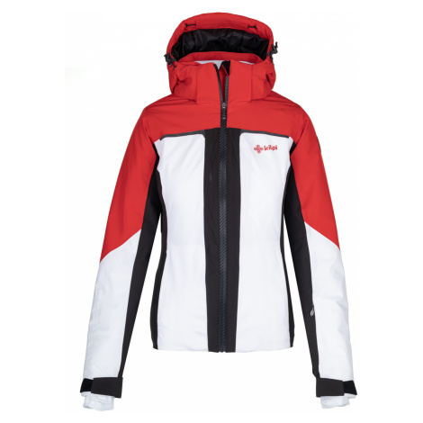 KILPI Dámská lyžařská bunda MAANIA-W NL0039KIWHT Bílá