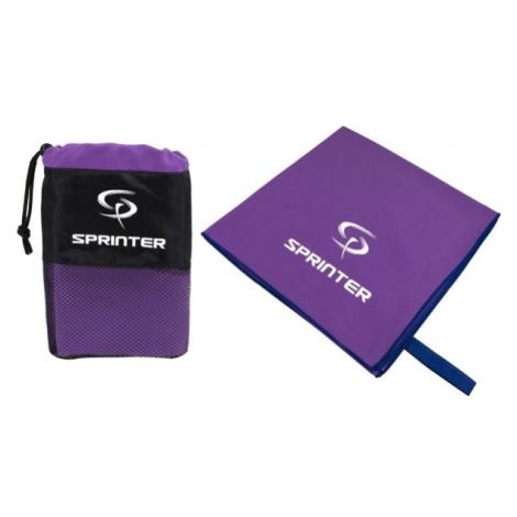 Sprinter RUČNÍK Z MIKROVLÁKNA 100x160CM fialová - Sportovní ručník z mikrovlákna