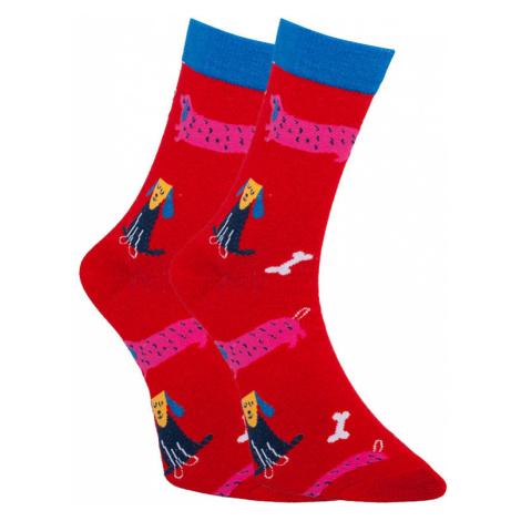 Veselé ponožky Dots Socks psi (DTS-SX-405-W) L