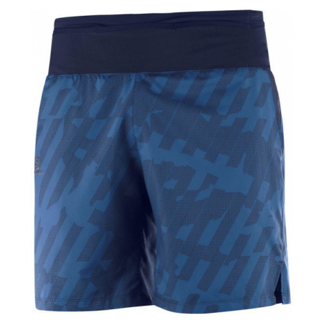 Salomon XA TRAINING SHORT M modrá - Pánské šortky