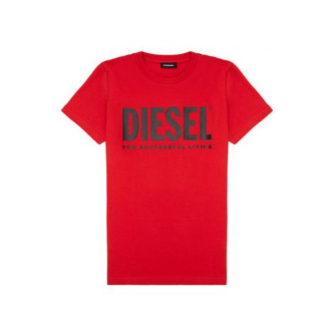 Diesel TJUSTLOGO Červená
