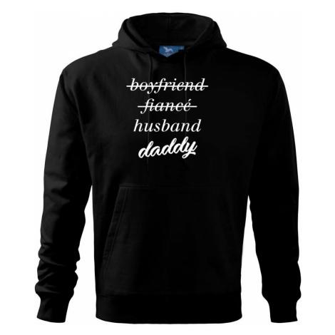 Partnerské triko nastávající rodiče - Mikina s kapucí hooded sweater