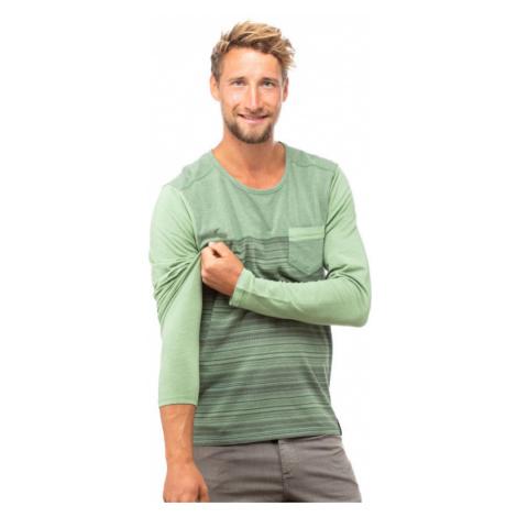 Pánské tričko Chillaz Street Stripes Retro green