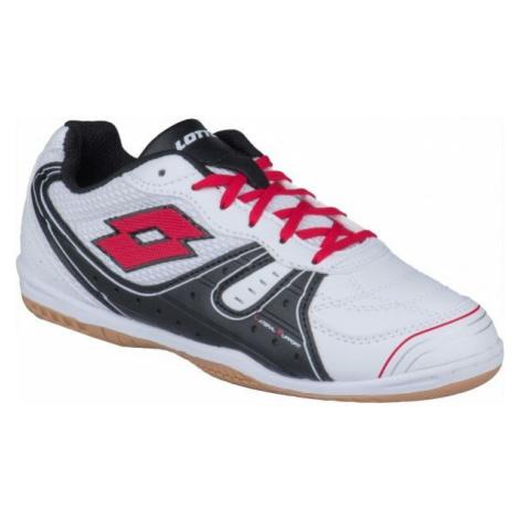 Lotto TACTO 500 III JR bílá - Chlapecká sálová obuv