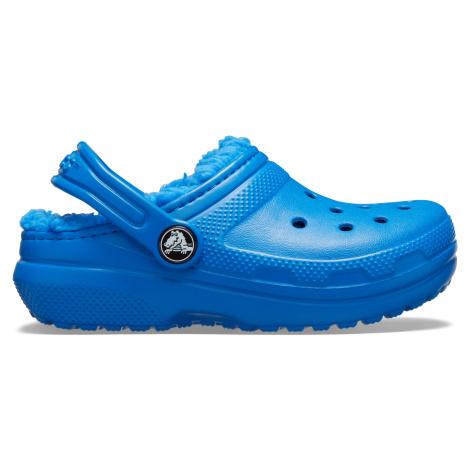 Crocs Classic Lined Clog K Bright Cobalt/Bright Cobalt J3
