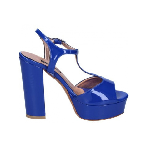 Albano sandali vernice Modrá