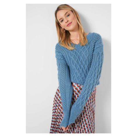 Pulovr s pleteným vzorem Orsay