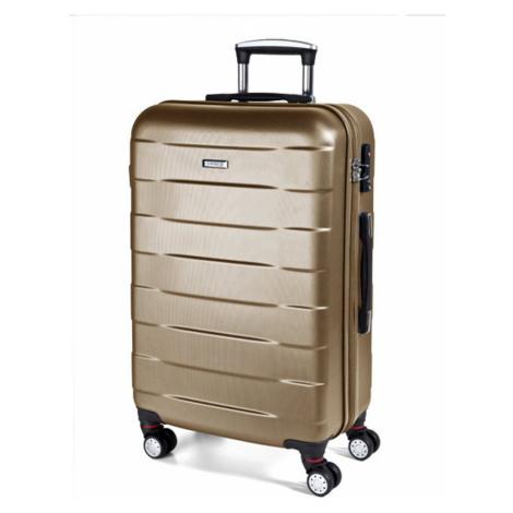 March Střední cestovní kufr Bumper 71 l - zlatá