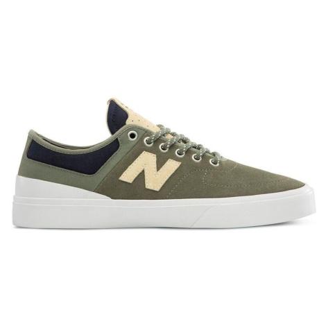 Obuv New Balance NM379GNB Khaki / Bílá