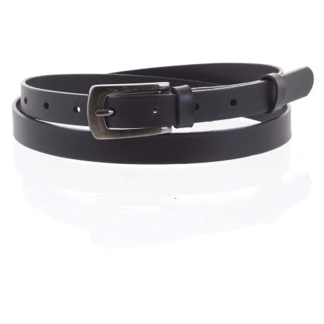 Dámský kožený opasek černý - PB Zippo 95 Penny Belts