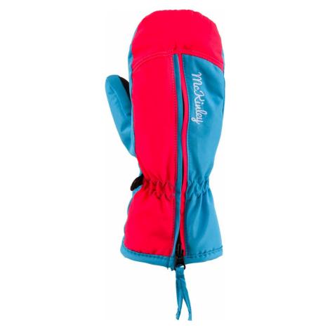 Rukavice McKinley Adriel - modrá/růžová