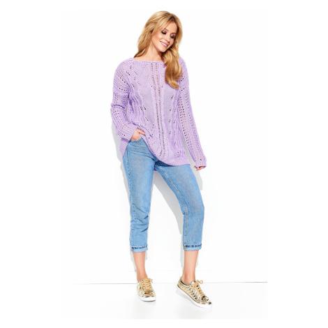 Makadamia Woman's Sweater MAKs60 Lilac