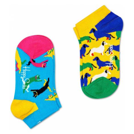2-Pack Cat vs Dog Low Socks Happy Socks