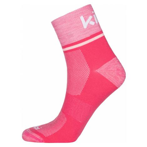 KILPI Sportovní ponožky REFTY-U MU0028KIPNK Růžová