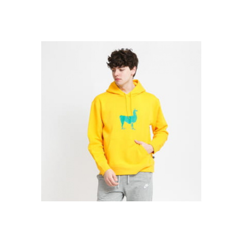 Nike M NK SB Lama Fleece Hoody tmavě žlutá