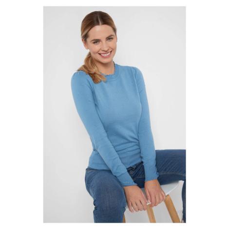 Přiléhavý pulovr s 3D puntíky Orsay