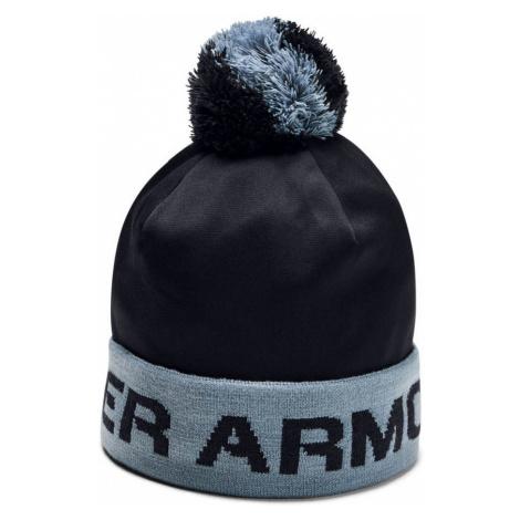 Under Armour Boys Gametime Pom Beanie Chlapecký kulich 1345388-001 Black