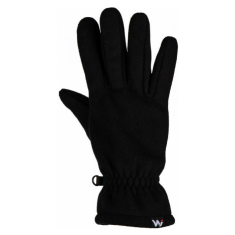 Willard KIEROS černá - Unisex fleecové rukavice