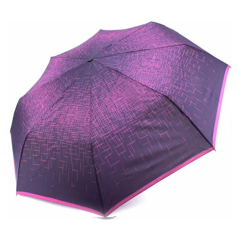Růžovofialový skládací plně automatický dámský deštník Kynlee Doppler