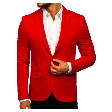 Červené pánské elegantní sako Bolf SR2003 RWX