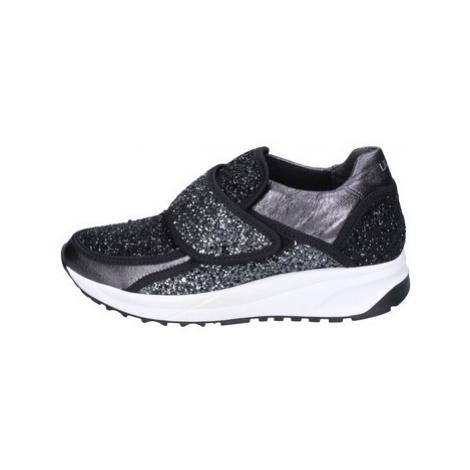 Liu Jo sneakers glitter pelle sintetica Černá