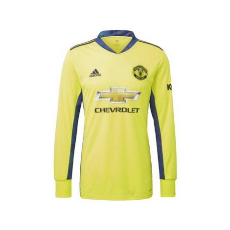 Adidas Dres Manchester United Away Goalkeeper Žlutá
