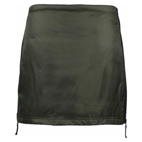 Zimní péřová sukně SKHOOP Rebecka Down, olive