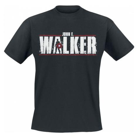 The Falcon And the Winter Soldier John F. Walker Tričko černá