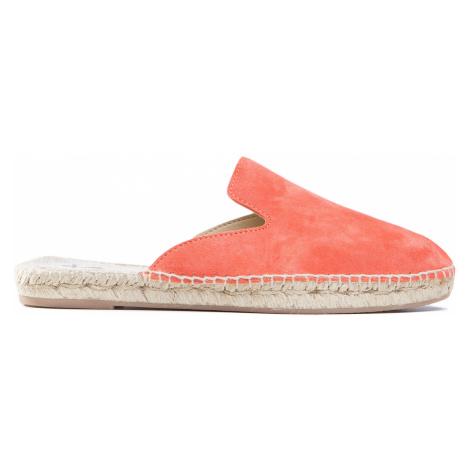Pantofle MANEBI oranžová
