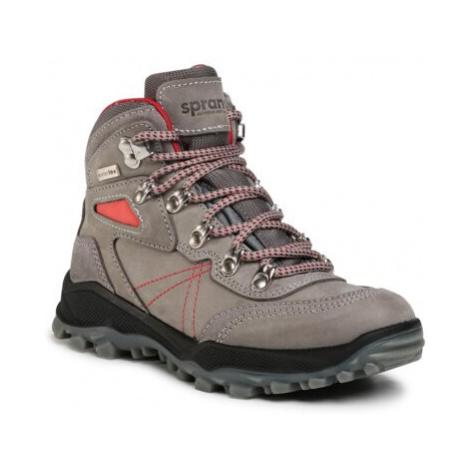Šněrovací obuv Sprandi Outdoor Performance AT71408S Přírodní kůže (useň) - Nubuk