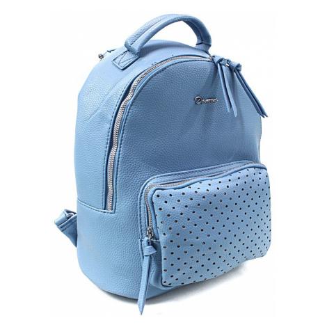 Světle modrý dámský stylový praktický batoh Laurencia Mahel