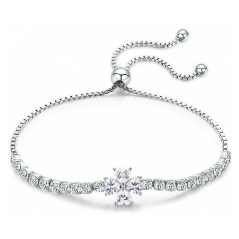 Linda's Jewelry Stříbrný náramek Shiny Deluxe Ag 925/1000 INR087