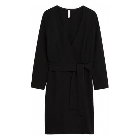 MANGO Šaty 'Mila 1' černá