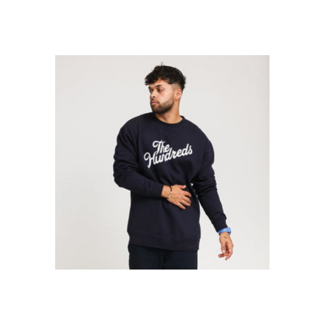 The Hundreds Forever Slant Logo Crewneck navy