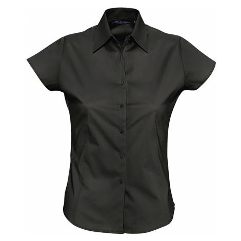 SOĽS Dámská košile EXCESS 17020312 Černá SOL'S