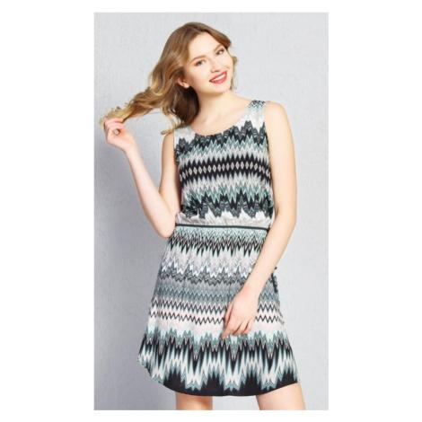 Dámské šaty Vienetta Secret Lenka | khaki
