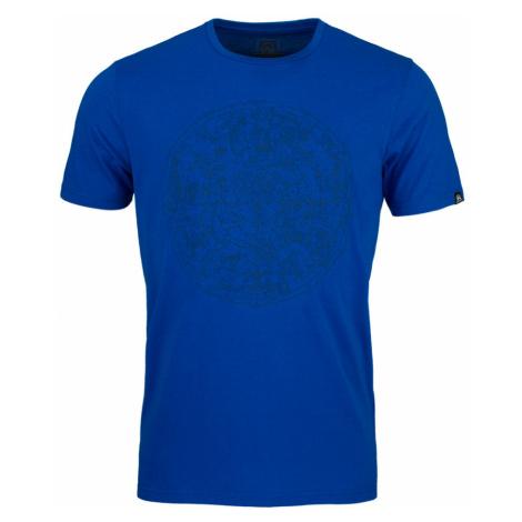 NORTHFINDER KYREE Pánské triko TR-3543SP281 modrá