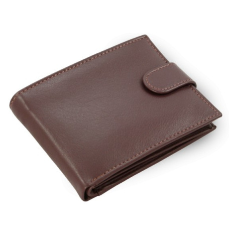 Tmavě hnědá pánská kožená peněženka Thomas Arwel