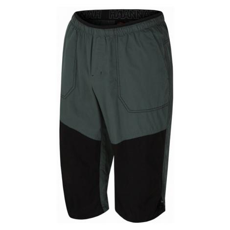 Pánské 3/4 kalhoty Hannah Hug dark forest/anthracite