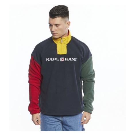 Sweatshirt Karl Kani Retro Block Troyer navy/red/green/yellow