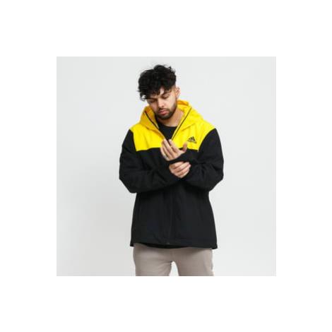 adidas Performance Basic 3-Stripes R.R. Jacket černá / žlutá