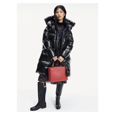 Tommy Hilfiger dámský černý zimní kabát Palmer